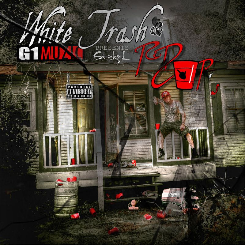 G1 Muzic / G1 Digital Release - White Trash and Red Cups - Sticky L